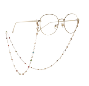 Colorful Beads Glasses Chain