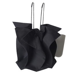 Fabric black bag