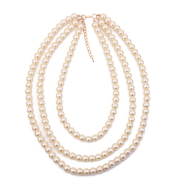 Simple pearls necklace