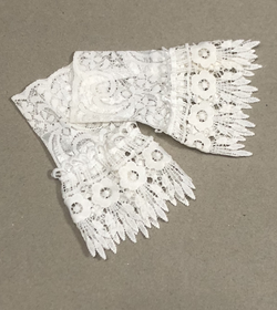 Lace fake sleeves short