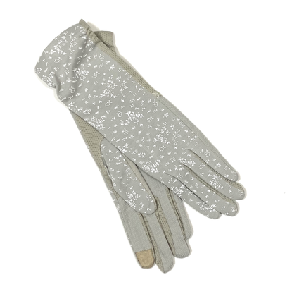 Long cotton patterns gloves