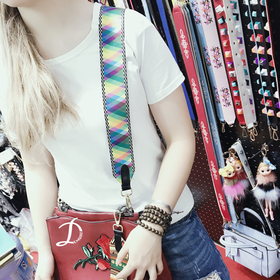 Colorful Bag Belt
