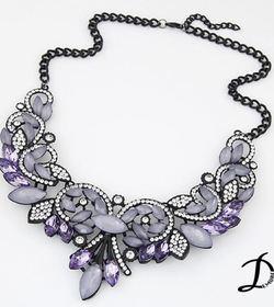 Pricess crystal necklace