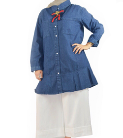 Denim women shirt